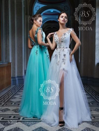 V201 evening dress