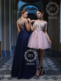 V204 evening dress