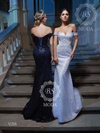 V216 evening dress