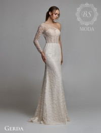 Gerda wedding dress Belle at blanc collection