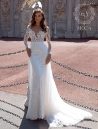 Fabia wedding dress Le Soleil Blanc collection