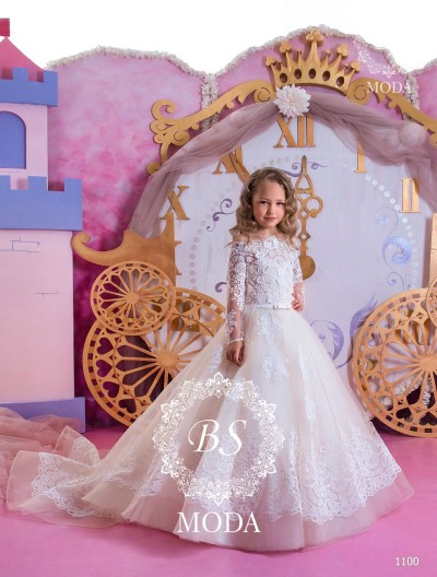 1100 flower girl dress